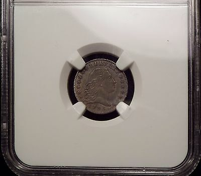 1795 H10 Dimes AU details NGC High AU. Cleaned.