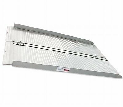 NEW Portable 5FT Loading Folding Aluminium Ramp for Wheelchair - Indoor/Outdoor