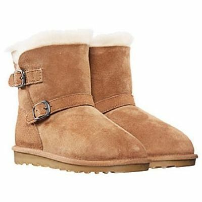NEW Kirkland Signature Girl's Shearling Buckle Boots- CHOOSE COLOR