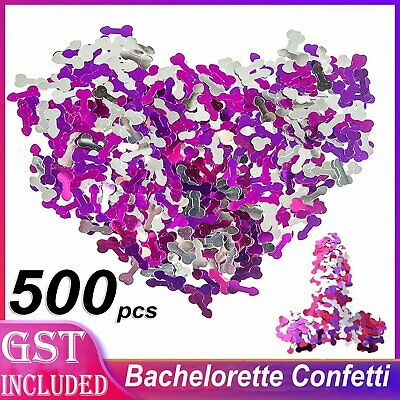 Willy Confetti Hens Night Party Pecker Penis Decoration Scatters Bachelorette