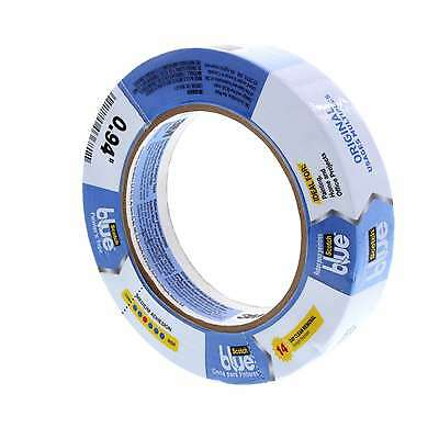 Masking Tape Blue 25mm Safe Release Medium Adhesion 14 Day Removal Scotch