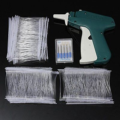 DCDEAL Price Label Tag Gun Labeler Tag Attacher Gun+1 Tagging+1000 White Barbs