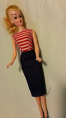 Vintage knock off of German Lilli Bild-about 7 inches-