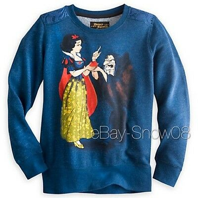 Snow White and Hag Pullover Top Disney Fairytale Designer Collection NWT Medium