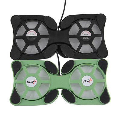 USB Port Mini Octopus Notebook Fan Cooler Cooling Pad For 14 INCH Laptop FX
