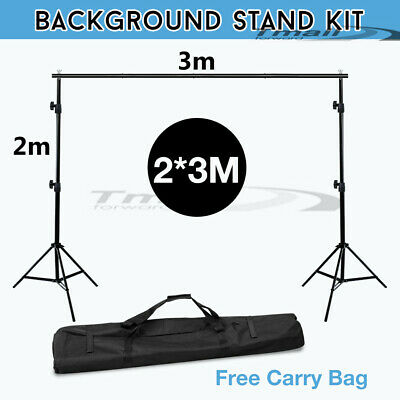 NEW-LARGE Photo Softbox Lighting Studio Cube Tent Soft Box 4X Light Stand Kit-AU