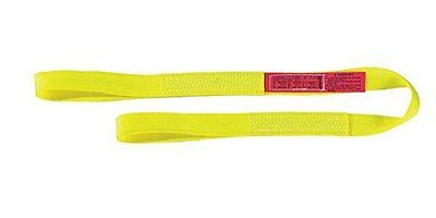 "Liftall EE1601NFX3 Eye-Eye Web Sling, Nylon, 1"" x 3, 1-ply, Flat-Eye"