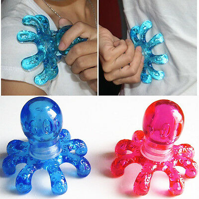 Portable Handheld Octopus Massager Relieving Neck Abdomen Back Muscle Pain 6030