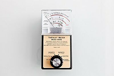 Trifield 50hz 100xe Meter - Suitable for Use in Europe