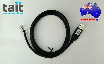 TAIT USB Programming Cable (8-Pin version).