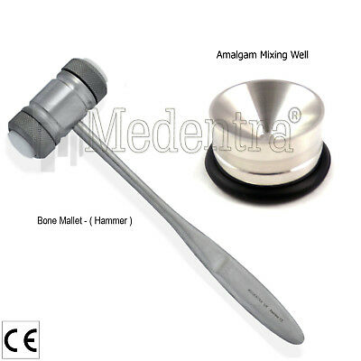 Dental Mallet Bone Placement Well Grafting-Bone Crusher Scrapers Implant Tools