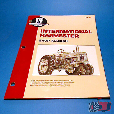 IH10 Workshop Manual International IH W400 W400D Tractor can use for A554 564