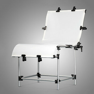 Photography Video Still Life Product Portable Adjustable Shooting Table 60x130cm