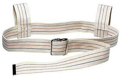 "Physical Therapy Gait Belt with Metal Buckle 60"" Loop beige"