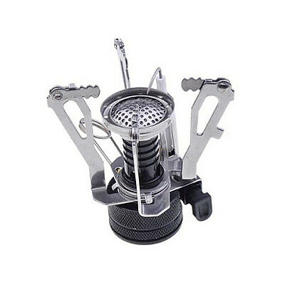 Portable Gas Burner Foldable Mini Steel Stove for Outdoor Picnic Camping Hiking