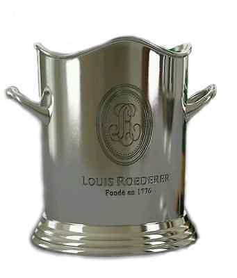 Louis Roederer Champagne Ice Bucket Nickel Plated Wine Cooler