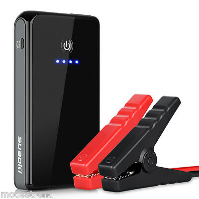 Emergency Car Charger Power Bank Portable Jump Starter Booster 8000mAh 12V 300A