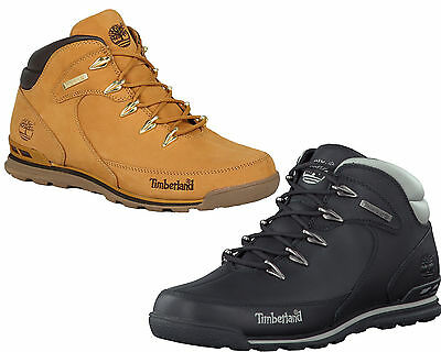 Mens Timberland Boots Euro Rock Hiker Casual Ankle Real Leather Lace Up Shoes