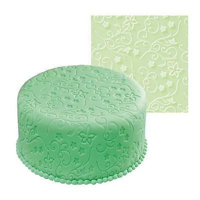 Fondant Imprint Mat Graceful Vines   Sugarcraft Impression textured Rolling Mat