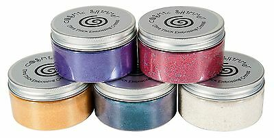 COSMIC SHIMMER ULTRA THICK Embossing Crystals Powder 100ml LARGE 14 colours