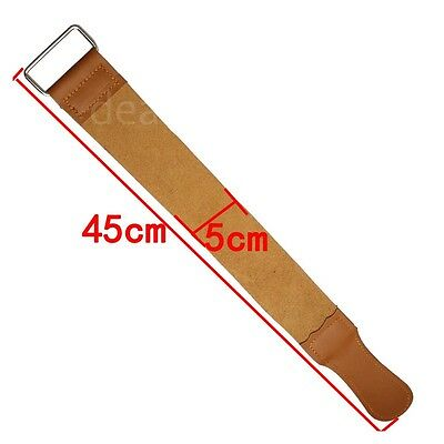 Specialized Sharpen Knife Cloth Double Leather Stropping Scraper Cloth