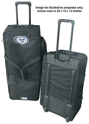 Protection Racket 5028W-01 28x14x10 Inch Hardware Case With Wheels (NEW)