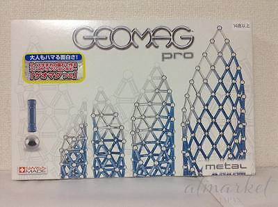 Geomag PRO Metal Building Kit (100-Piece) 214 from Japan F/S
