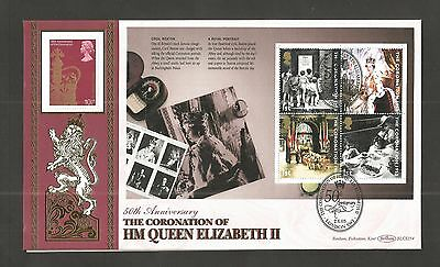 Benham 2003 Perfect Coronation Prestige Booklet Pane's Set Of Fdc's Lot Gb182