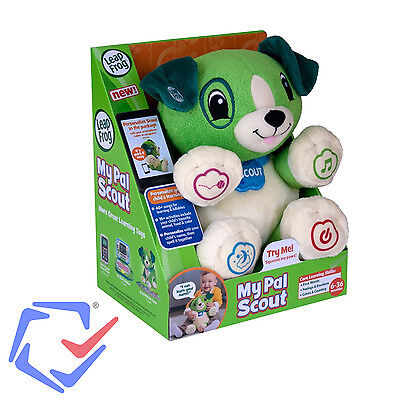 My Puppy Pal Scout (Green) LeapFrog 5 Pre-loaded songs Creative Toy for Baby
