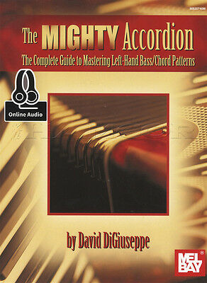 The Mighty Accordion Sheet Music Book with Audio Complete Guide Chord Patterns