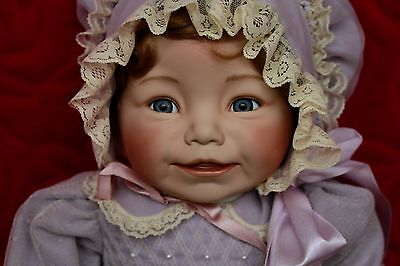 Ashton-Drake Galleries( Bright Baby Smiles) Porcelain Doll With Certificate