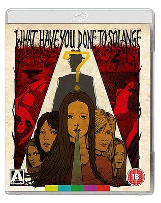 WHAT HAVE YOU DONE TO SOLANGE ? -  Blu-Ray Disc -