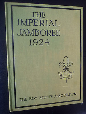 Boy Scout Book  - Imperial Jamboree 1924 Wembley England