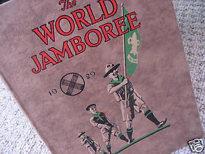 Boy Scout Book  - World Jamboree 1929 Arrowe Park Birkenhead England