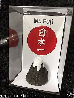 Ornament made from Mt.Fuji soil Made in Japan