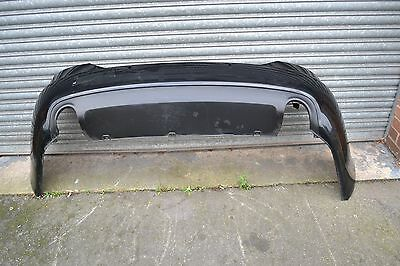 AUDI A6 C6 Salon 2005-2011 Rear Bumper In Black With Diffuser
