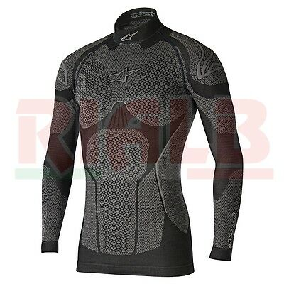 Maglia Termica Alpinestars RIDE TECH TOP LONG SLEEVE WINTER Invernale per Moto