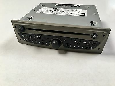 POSTE AUTORADIO-CD mp3 Bluetooth RENAULT CLIO 3 III _281158800R_NEW