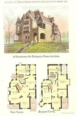 Scientific American Architects and Builders Edition- Riverside Park, N. Y.-1891