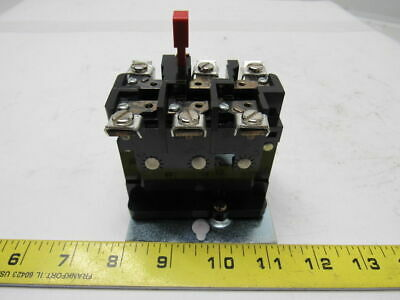 RELIANCE 704263-R AN13P  J Thermal Overload Relay 3 Pole NEMA 1 Non Compensated