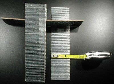 "Finish Brad Nails 18 gauge 1-1/4"" Inch Long 5,000pcs (Galvanized Chisel Point)"