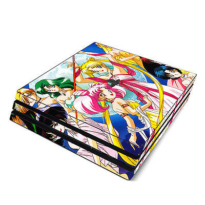 Video Games & Consoles Nice Sony Ps4 Pro Skin Decal Sticker Vinyl Wrap Sailor Moon Pretty Guardian