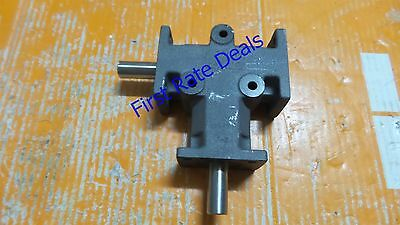 Mitrpak HAT-10 Gear Drive Right Angle 5/8IN SHAFT 2 TO 1 RATIO HAT 10 2:1 New