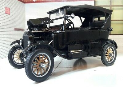 G LGB 1:24 Scale 1925 Ford Model T Black Model Railway Detailed Diecast Sunstar