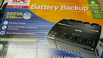 APC ES Series Battery Back Up BE550G