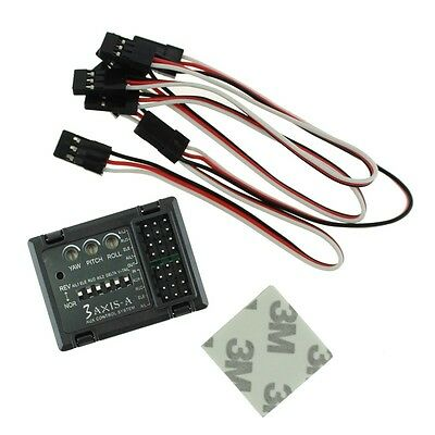 3-axis Flight Control Controller Stabilizer System Gyro for Fixed Wing Aircraft
