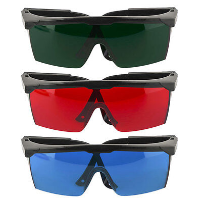 Laser Safety Goggles Spectacles Green/Blue/Red Protection Glasses Storage Box