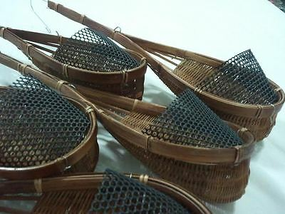 Rattan Baskets  Suitable for Orchids & Small Plants/Flowers. 5 Pieces. FREE POST