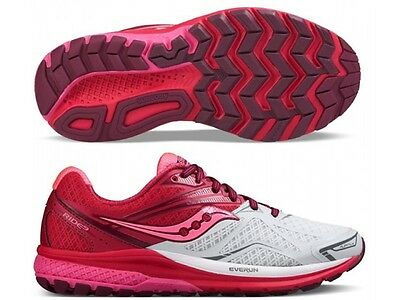 dc197e9e6fef Womens Saucony Ride 9 Ladies Running sneakers fitness training runners Shoes