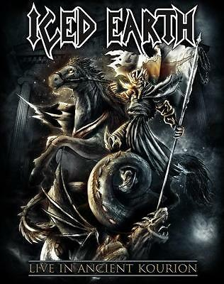 ICED EARTH - Live in Ancient Kourion DVD, NEU